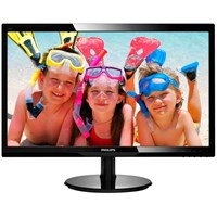 Philips 220V4LSB 22 inch LED Monitor - 1680 x 1050, 5ms, DVI