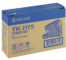 Kyocera TK-1115 Black Toner Cartridge (Yield 1,600 Pages) for ECOSYS FS-1041