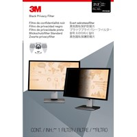 3M PF213C3B Frameless Black Privacy Filter for 21.3 inch Standard Monitors - 98044054173 / 7100026042