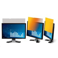 3M GF190C4B Frameless Gold Privacy Screen Filter for 19.0 inch Standard Monitors - 7100026041