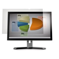 3M AG220W1B Frameless Anti-Glare Clear Screen Filter for 22.0  inch Widescreen Desktop LCD Monitors