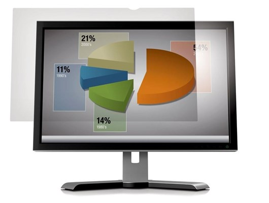 3M AG24.0W1B Frameless Anti-Glare 16:10 Clear Screen Filter for 24 inch Widescreen Desktop LCD Monitors