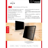 3M PF230W9F Framed Black Privacy Filter for 23.0 inch Widescreen Monitors - 7100097749