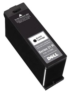 Dell Standard Capacity Black Ink Cartridge (Yield 180 Pages) for V313/V313W Inkjet Printers