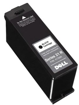 Dell T093N Series 21R (Yield: 180 Pages) Black Ink Cartridge