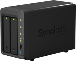 Synology DiskStation DS713+ 8TB (2 x 4TB) 2-Bay High-Performance Desktop NAS Server