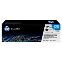 HP 125A (Yield: 2,200 Pages) Black Toner Cartridge Pack of 2