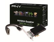 PNY NVIDIA NVS 300 Graphics Card 512MB DDR3 PCI-Express 2.0 x1 with DMS59 to Dual DisplayPort Adaptor Cable (Retail)