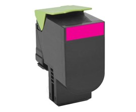 Lexmark 802M (Yield: 1,000 Pages) Return Program Magenta Toner Cartridge