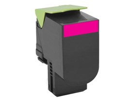Lexmark Return Program 802M (Yield: 1,000 Pages) Magenta Toner Cartridge