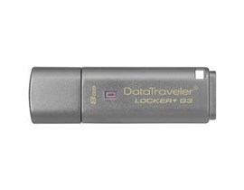 Kingston DataTraveler Locker+ G3 8GB USB 3.0 Drive