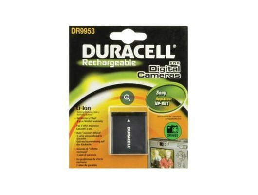 Duracell DR9953 (3.7V) 630mAh Lithium-Ion Camera Battery