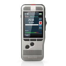 Philips Pocket Memo DPM 7200 Digital Dictation Recorder with Configurable 4 Postion Slide Switch and Philips SpeechExec Workflow Software