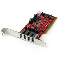 StarTech 4 Port PCI SuperSpeed USB 3.0 Adapter Card