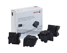 Xerox ColorQube 108R00999 (Yield: 9,000 Pages) Black Solid Ink Sticks Pack of 4