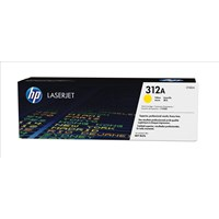 HP 312A (Yield: 2,700 Pages) Yellow Toner Cartridge