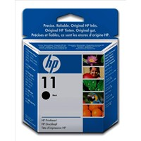 HP 11 (Yield: 16,000 Pages) Black Printhead Ink Cartridge