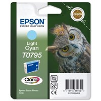 Epson Ink Cartridge Light Cyan T0795