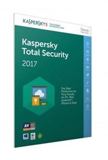 Kaspersky Lab Total Security 2017 Multi Device 3 Users 1 Year Retail (UK) FFP