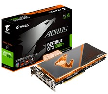 Gigabyte GeForce GTX 1080 Ti Waterforce 11GB Card
