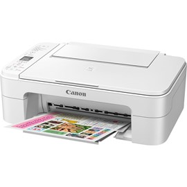 Canon PIXMA TS3151 (A4) Colour Inkjet Multifunction Printer (Print/Copy/Scan) 3.8cm LCD 7.7ipm (Mono) 4.0ipm (Colour) 65 sec (Photo) - White
