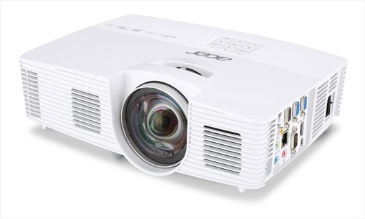 Acer S1283hne 3D Ready DLP Projector 13000:1 3100 Lumens 1024x768 2.8kg (Networked)