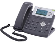 Yealink SIP-T22PN Entry Level IP Phone LCD Backlit Power Over Ethernet (PoE) TI-Titan VPN (Black)