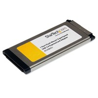 StarTech.com 1 Port Flush Mount ExpressCard SuperSpeed USB 3.0 Card Adaptor
