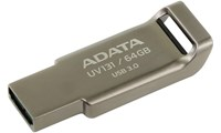 Adata UV131 64GB USB 3.0 Flash Stick Pen Memory Drive - Grey