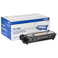 Brother TN-3390 (Yield: 12,000 Pages) Black Toner Cartridge