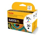 Kodak No 30 Combo Pack 30B/30CL Ink Cartridges