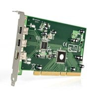 StarTech.com 3 Port (2xB/1xA) PCI 1394b FireWire Adaptor Card with DV Editing Kit