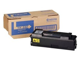 Kyocera TK-340 Black (Yield 12,000 Pages) Toner Cartridge for FS-2020D Printers