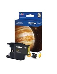 Brother LC1220Y Yellow (Yield 300 Pages) Ink Cartridge