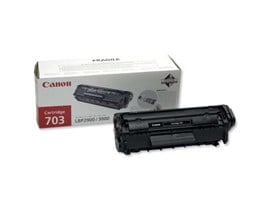 Canon 703 (Yield: 2,000 Pages) Black Toner Cartridge