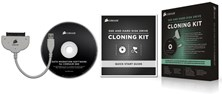 Corsair SSD and Hard Disk Drive Cloning Kit with USB 3.0 Cable and Migration Software CD