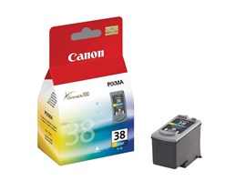 Canon CL-38 (Yield: 207 Pages) Cyan/Magenta/Yellow Ink Cartridge