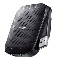 TP-LINK UH400 4-Port USB 3.0 Hub (Black)