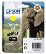 Epson Elephant 24 (non-Tagged) Ink Cartridge (Yellow)