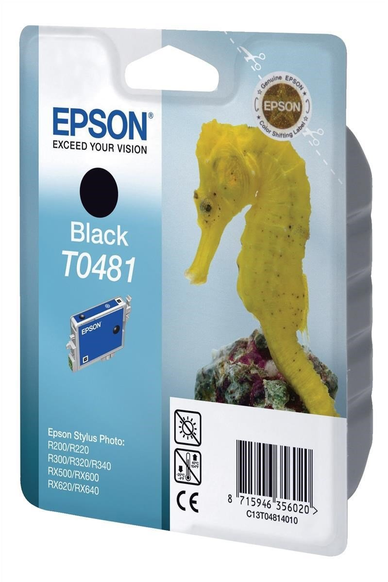 Epson Stylus Photo R200 R220 R300 Black Ink C13t04814010 Ccl