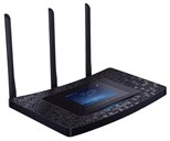 TP-LINK AC1900 Touch P5 (4.3 inch Touchscreen) Dual-Band Wi-Fi Gigabit Router (Black)