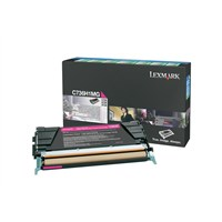 Lexmark Return Program (High Yield: 10,000 Pages) Magenta Toner Cartridge for C736/X736/X738 Colour Laser Printers