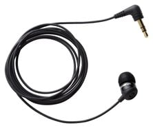 Olympus TP-8 Digital Headset Ear Microphone (Black)