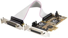 StarTech.com 8 Port PCI Express Low Profile Serial Adaptor Card