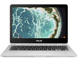 Asus Chromebook Flip C302CA-GU010 (12.5 inch Touchscreen) Convertible Notebook PC Core m3 (6Y30) 0.9GHz 4GB 64GB eMMC WLAN BT Webcam Chrome OS (HD Graphics 515)