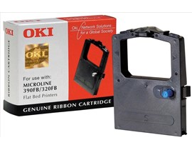 OKI Black Printer Ribbon for 320/390* Flatbed Printer