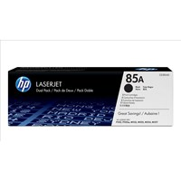 HP 85A (Yield: 1,600 Pages) Black Toner Cartridge Pack of 2