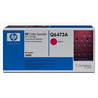 HP Magenta Laser Toner Cartridge Q6473A