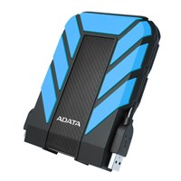 Adata HD710 Pro 2TB Mobile External Hard Drive in Blue - USB3.0