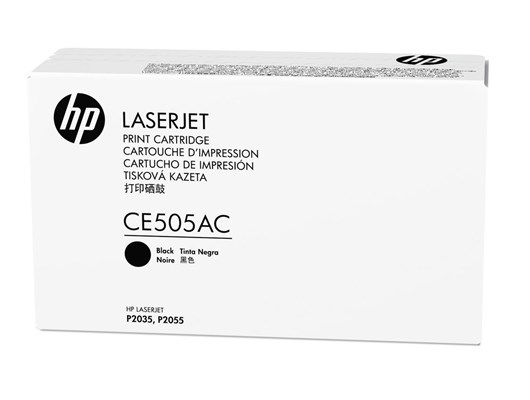 HP Contractual 05A (Yield: 2,300 Pages) Black Toner